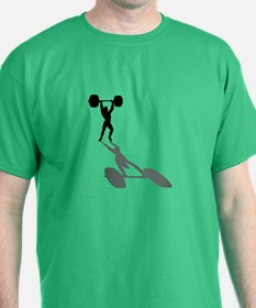 Powerlifters Weighlifting T-Shirt