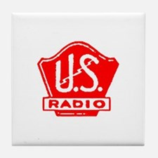 U.S. Radio Tile Coaster