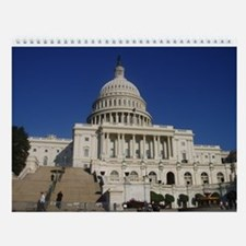Unique Capitol Wall Calendar