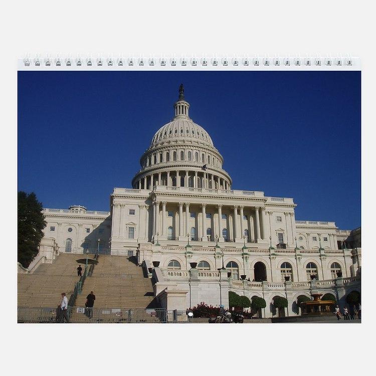 Cute Capitols Wall Calendar