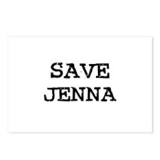 Save Jenna Postcards (Package of 8)