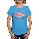 Peace Love Pigs Women's Dark T-Shirt