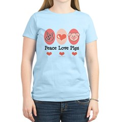Peace Love Pigs T-Shirt
