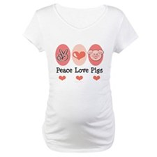 Peace Love Pigs Shirt