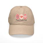 Peace Love Pigs Cap