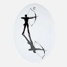 Archers Archery Ornament (Oval)