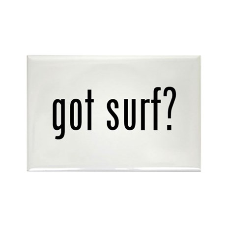 got surf? Rectangle Magnet (10 pack)