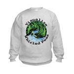 Visualize Whirled Peas Kids Sweatshirt