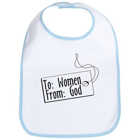 To Women, From God Bib