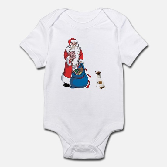 JACK RUSSELL TERRIER AND SANT Infant Bodysuit
