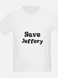 Save Jeffery Kids T-Shirt