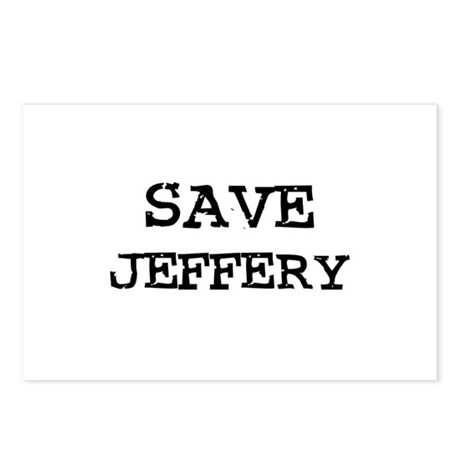 Save Jeffery Postcards (Package of 8)
