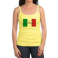 Italian Flag Extra Jr.Spaghetti Strap