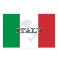Italian Flag Extra Postcards (Package of 8)