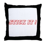 STICK IT ! Throw Pillow
