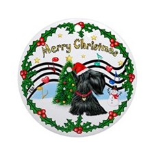 XmasMusic1 - Scotty (#12) Ornament (Round)