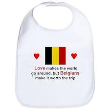 Love Belgians Bib