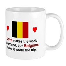Love Belgians Mug