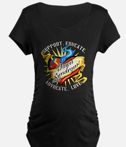 Down Syndrome Heart T-Shirt