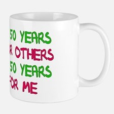 50th Birthday Freedom Statement Mug