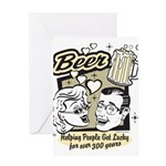 Funny Beer Humor Greeting Card