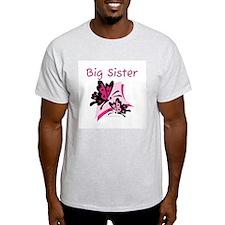 Butterflies Big Sister T-Shirt