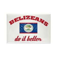 Belizeans do it better Rectangle Magnet