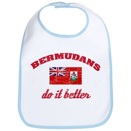 Bermudans do it better Bib
