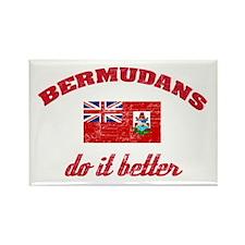 Bermudans do it better Rectangle Magnet (100 pack)