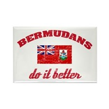 Bermudans do it better Rectangle Magnet