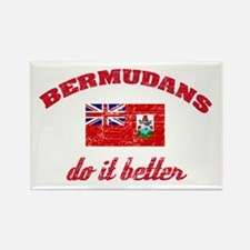 Bermudans do it better Rectangle Magnet