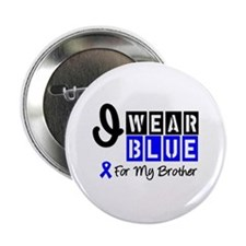 "Blue Ribbon Brother 2.25"" Button"