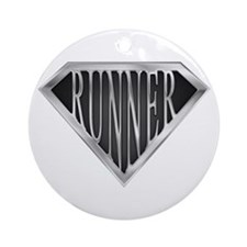 SuperRunner(metal) Ornament (Round)