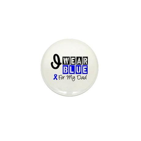 Blue Ribbon Dad Mini Button