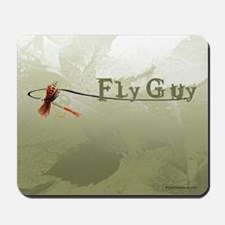 Fly Fishing Guy Mousepad
