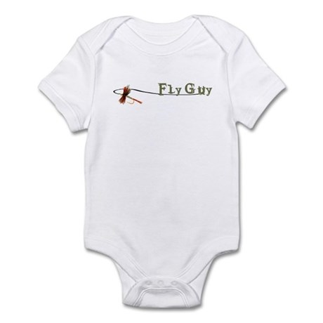 Fly Fishing Guy Infant Bodysuit