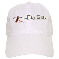 Fly Fishing Guy Baseball Cap