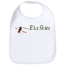 Fly Fishing Guy Bib