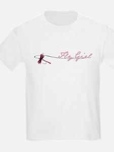 Fly Fishing Girl T-Shirt