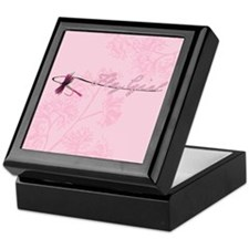 Fly Fishing Girl Keepsake Box
