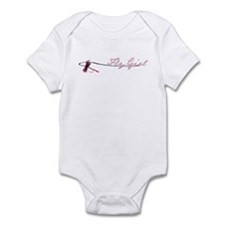 Fly Fishing Girl Infant Bodysuit