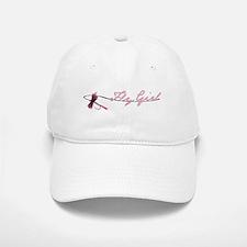 Fly Fishing Girl Baseball Baseball Cap