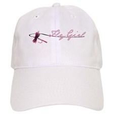 Fly Fishing Girl Baseball Cap