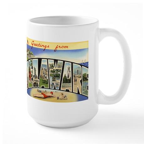 Delaware DE Large Mug