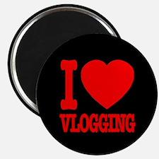 I Love Vlogging Magnet