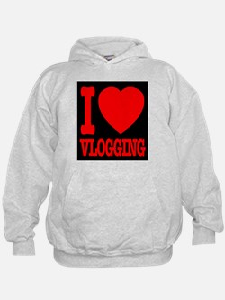 I Love Vlogging Hoodie