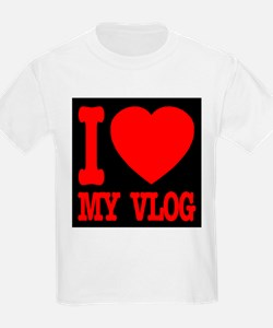 I Love My Vlog T-Shirt