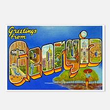 Georgia GA Postcards (Package of 8)