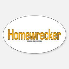 Homewrecker Oval Decal