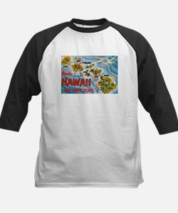 Hawaii HI Kids Baseball Jersey
